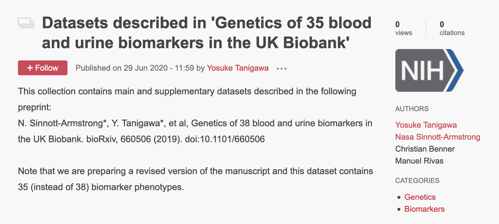 Biomarkers figshare image